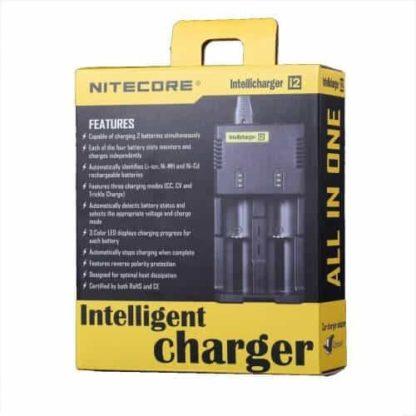 nitecore batterij lader