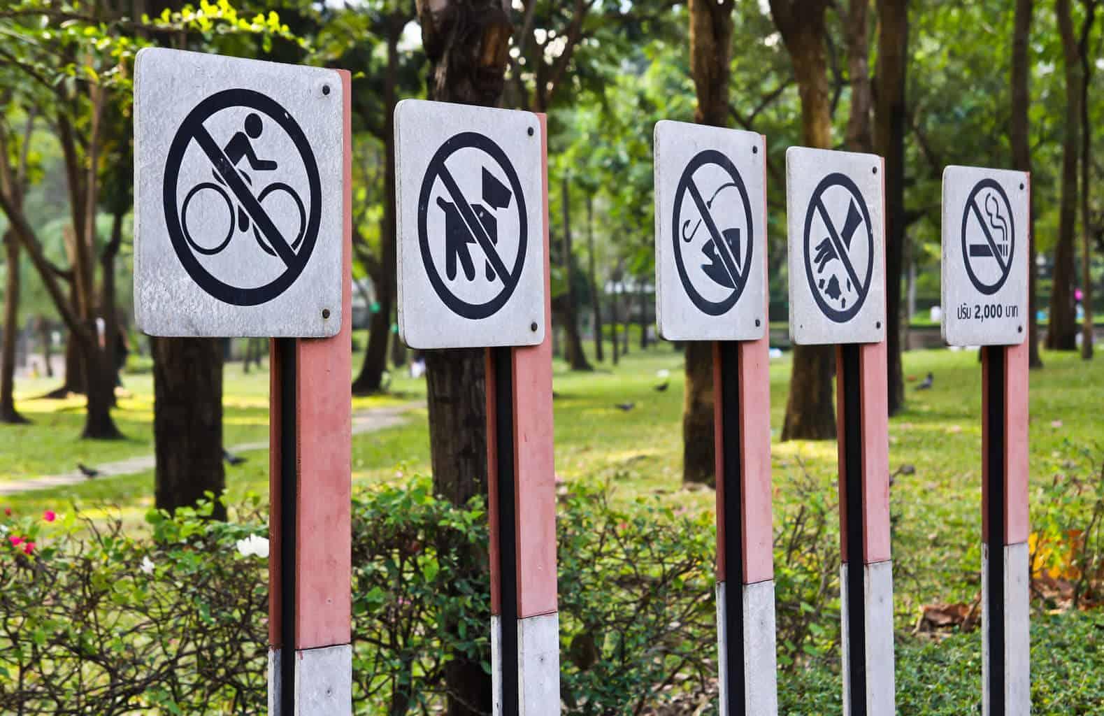 Vape restricties