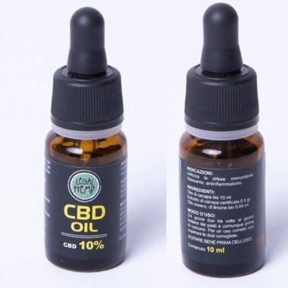 CBD Olie Citroen
