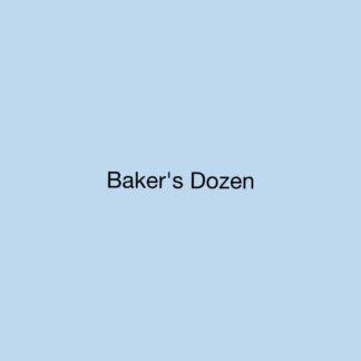 Baker's dozen Aroma's