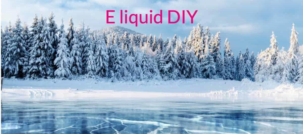 E liquid DIY