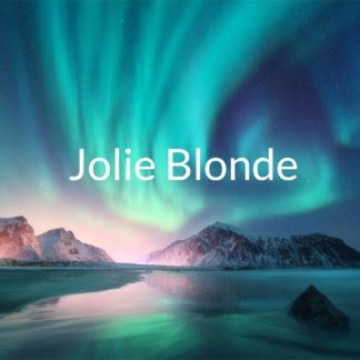 jolie blonde liquideo