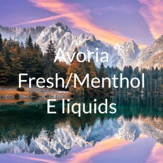 Avoria fresh and menthol e-liquids