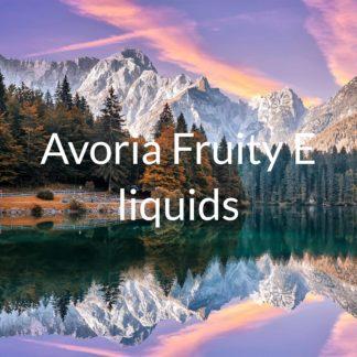 Avoria fruity e-liquids