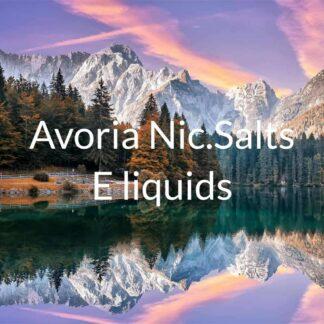 Avoria Nic salts e liquids