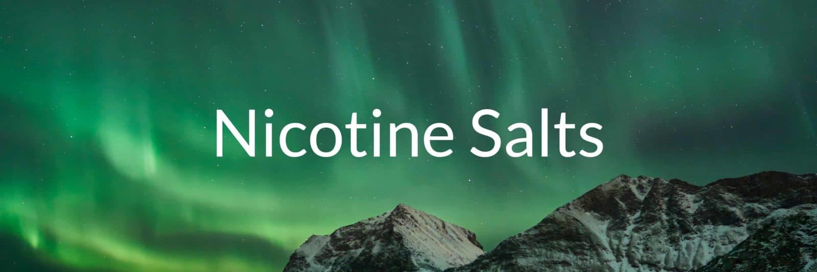 salts nicotine